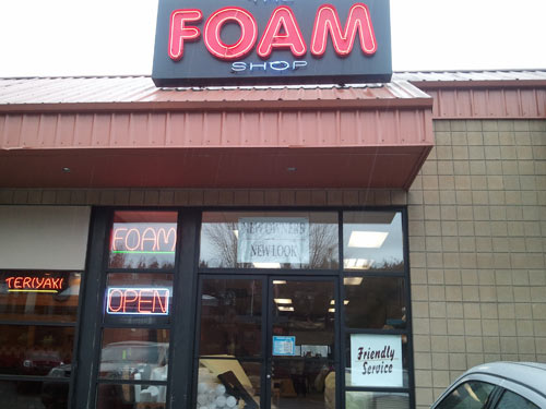 The Foam Shop in Bellevue - Thumbs Up for Kayak Outfitting 1
