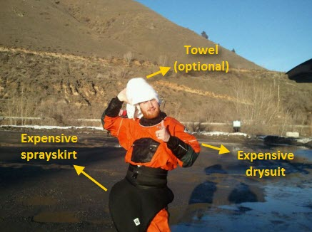 Whitewater Kayaking Gear: What to Buy - Drysuits and Paddles 1