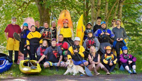 Washington Kayak Club regulars